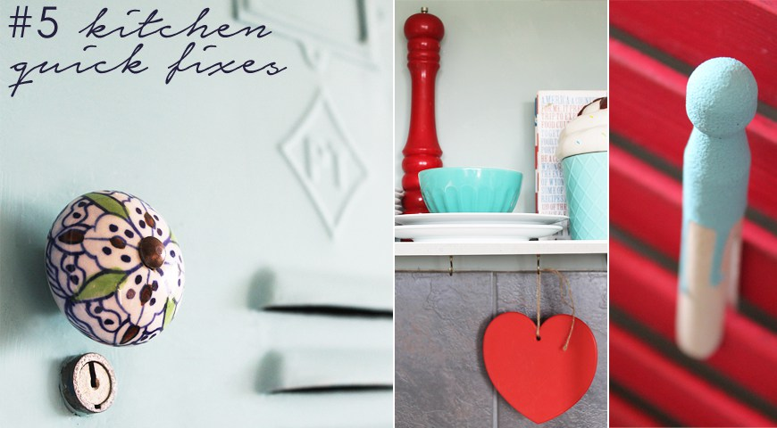 5 quick kitchen fixes on a tight budget