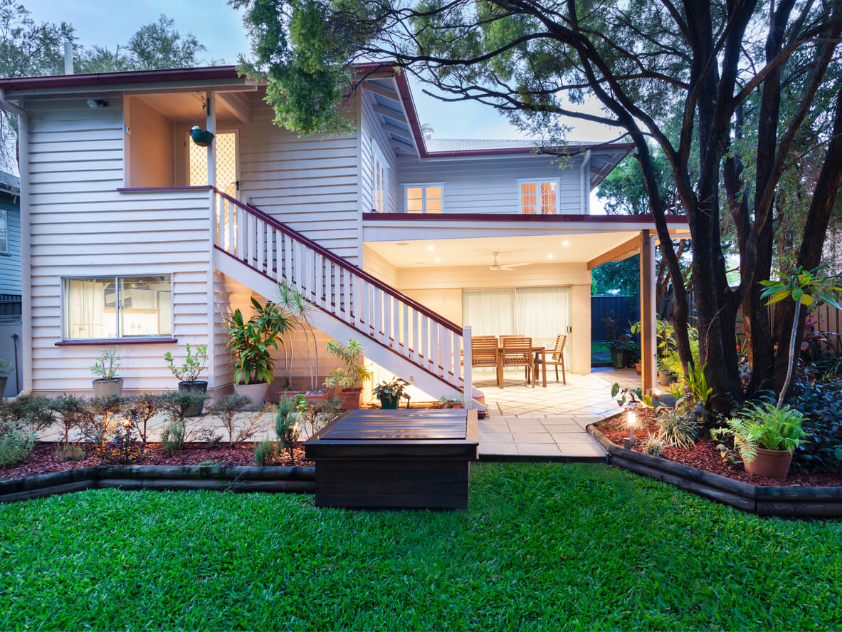 Attract prospective tenants by preparing the yard.