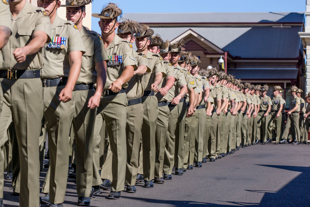 Watch one of many Anzac Day Parades.