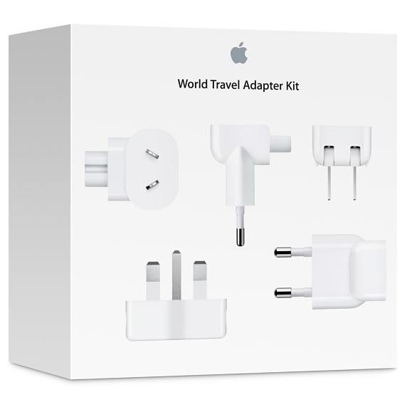 Do away with the hassle of looking for power adaptors in foreign countries, with The World Travel Adapter Kit.