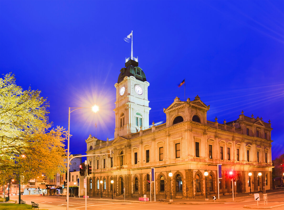 Families strike gold when they move to Ballarat.