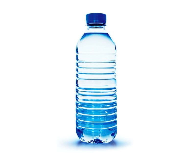 When you're on a budget, you should not spend money on bottled water.