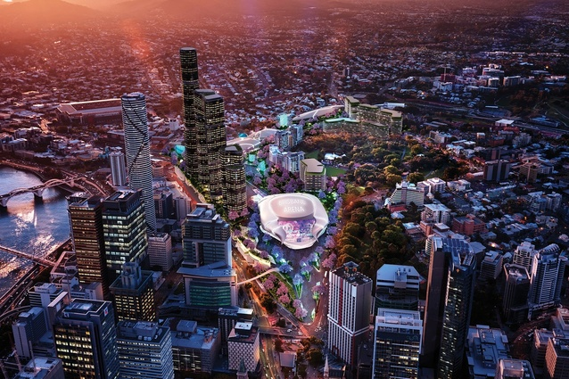 $2 billion entertainment precinct central Brisbane