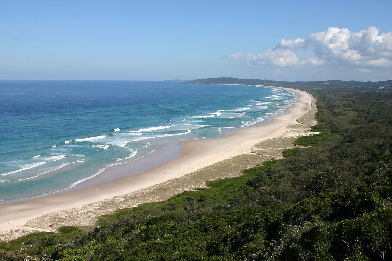 Lifestyle locations like Byron Bay