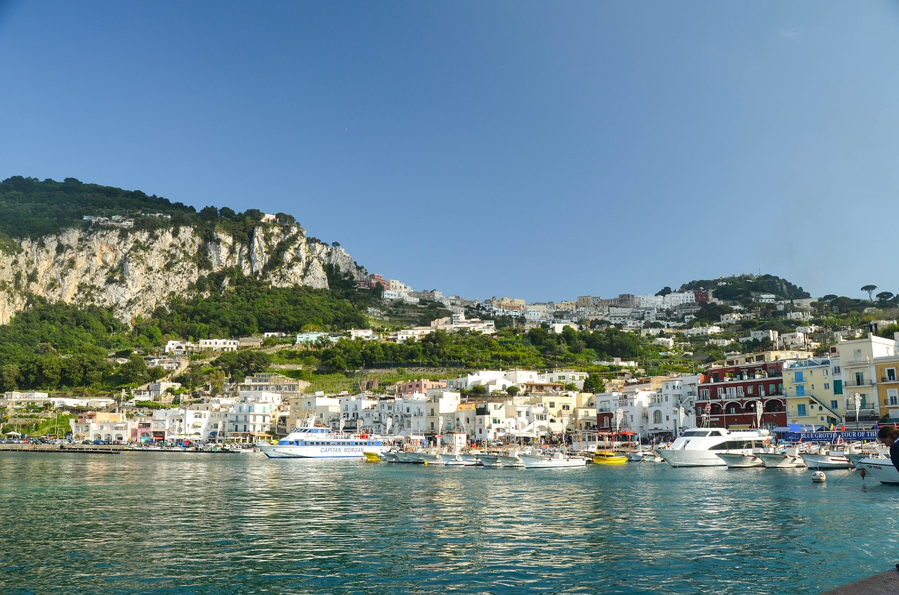 The island of Capri is one of those enchanting places that inspires artists and photographers to capture the magic.
