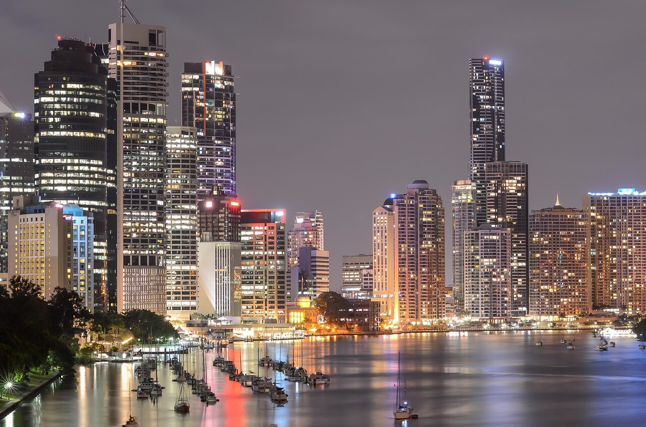 Queensland's capital is a holiday destination.