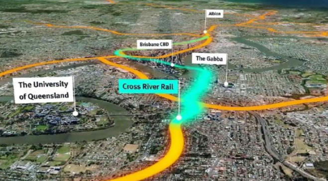 $5.4 billion rail project