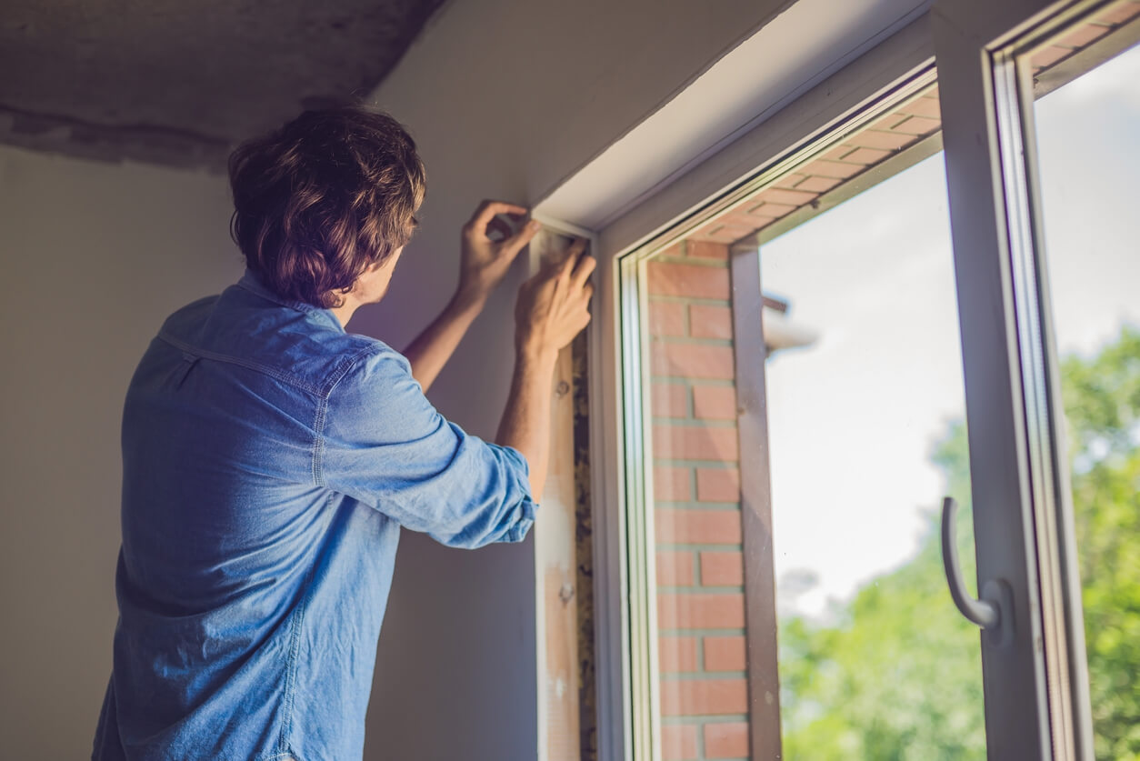 Window insulation is key to keeping the heat in.