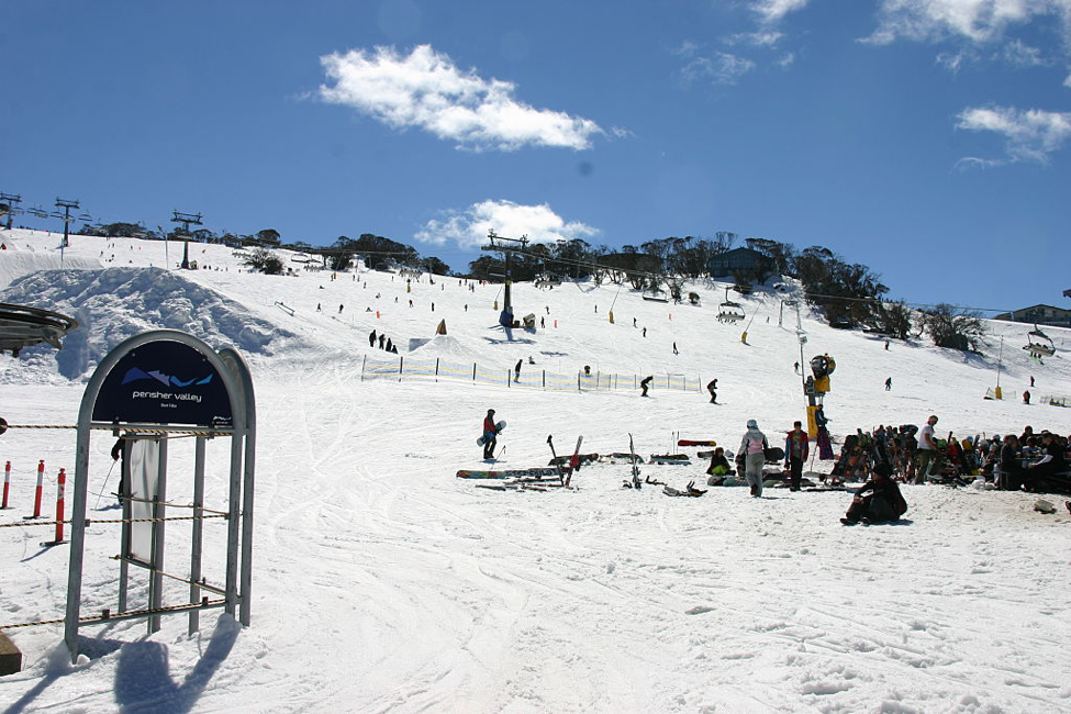 Visit Snowy Mountains in the winter.