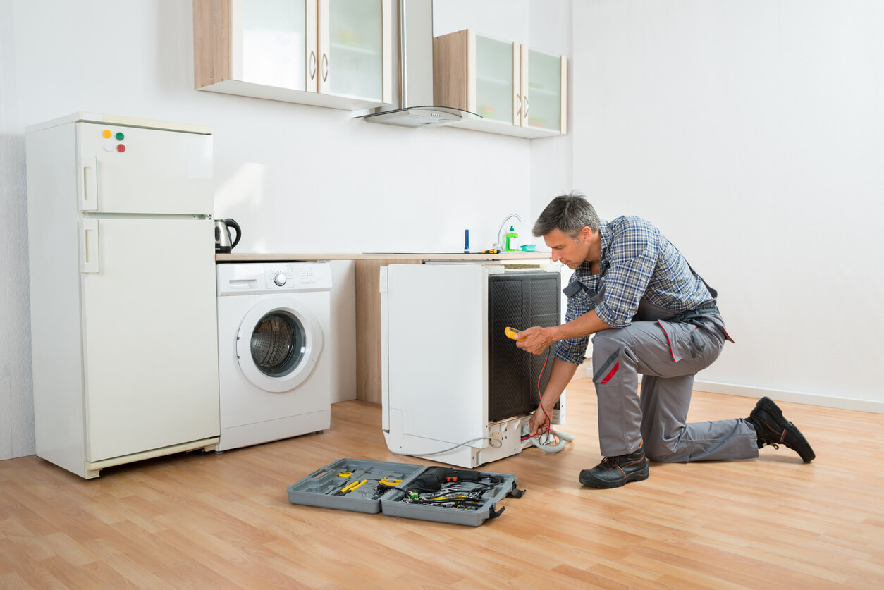Appliances in property are safe.