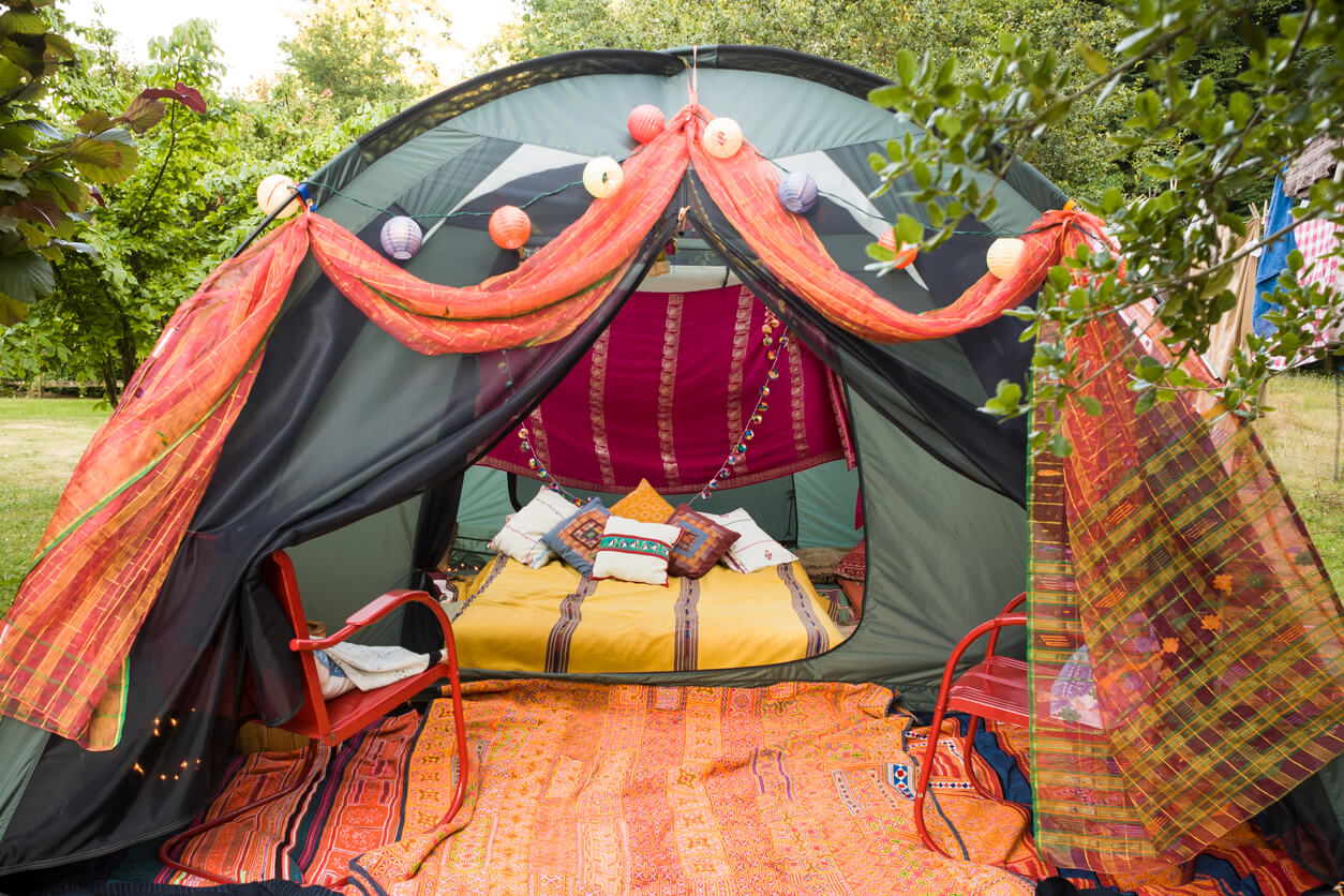 Set up your own family Glamping.