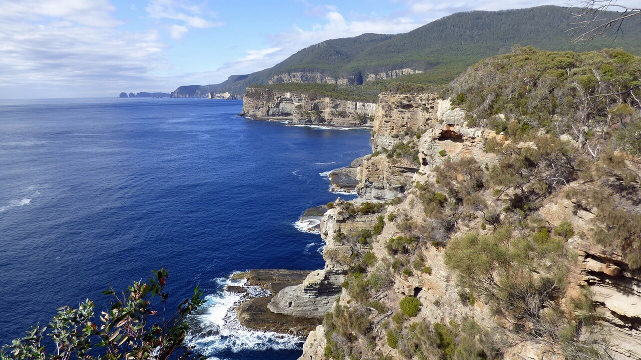 The Southern Hemisphere's highest sea cliffs
