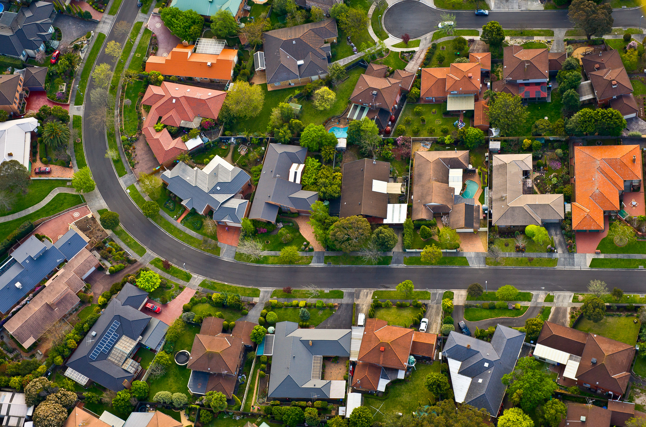 Positively geared property in suburbs