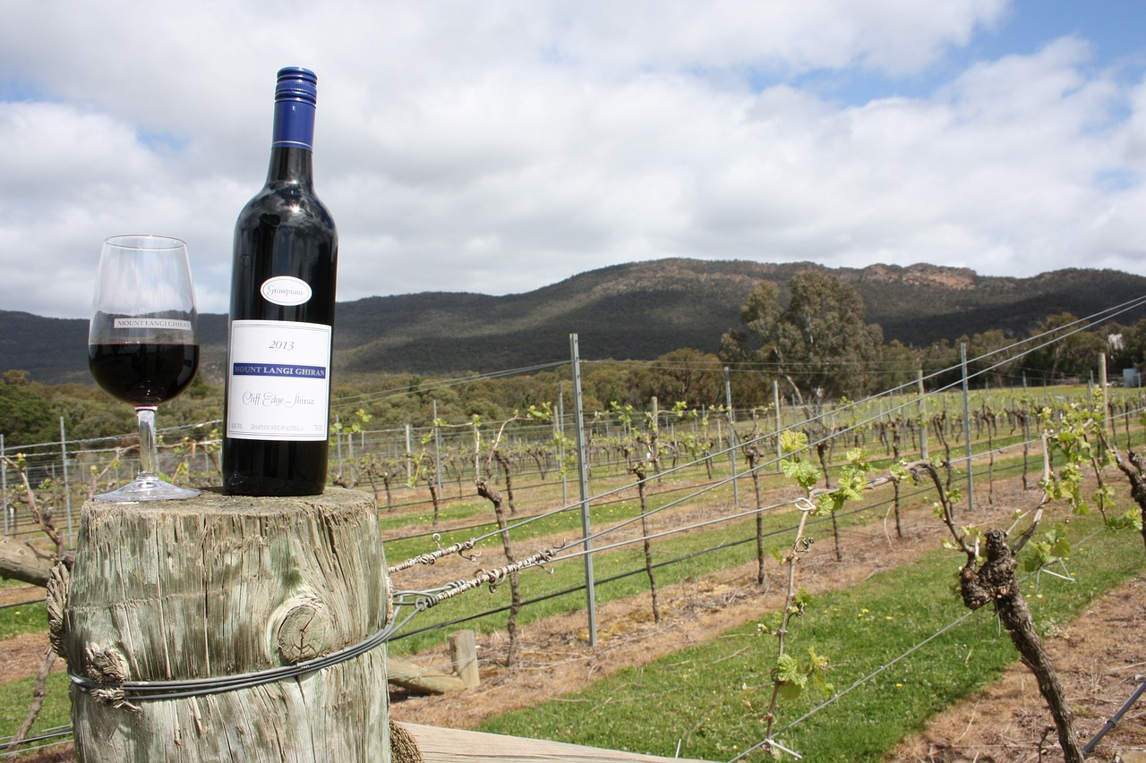A destination that holds events called the 'Seriously Shiraz Festival' and the 'Grampians Grape Escape Food and Wine Festival'.