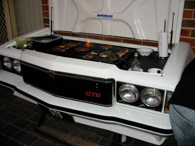 Holden Monaro BBQ - possibly the ultimate in Aussie BBQ designs.