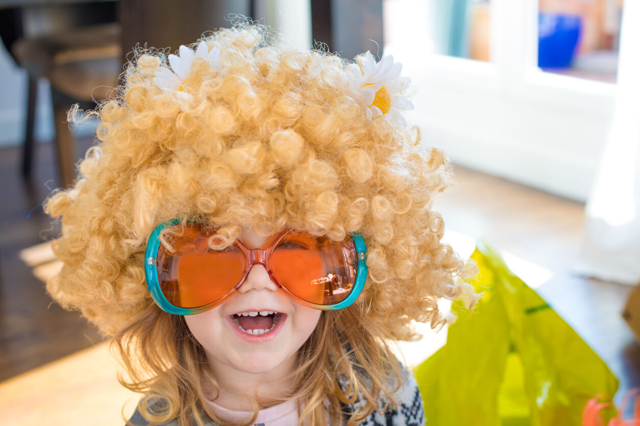 Pick a DIY theme for kids to dress up.