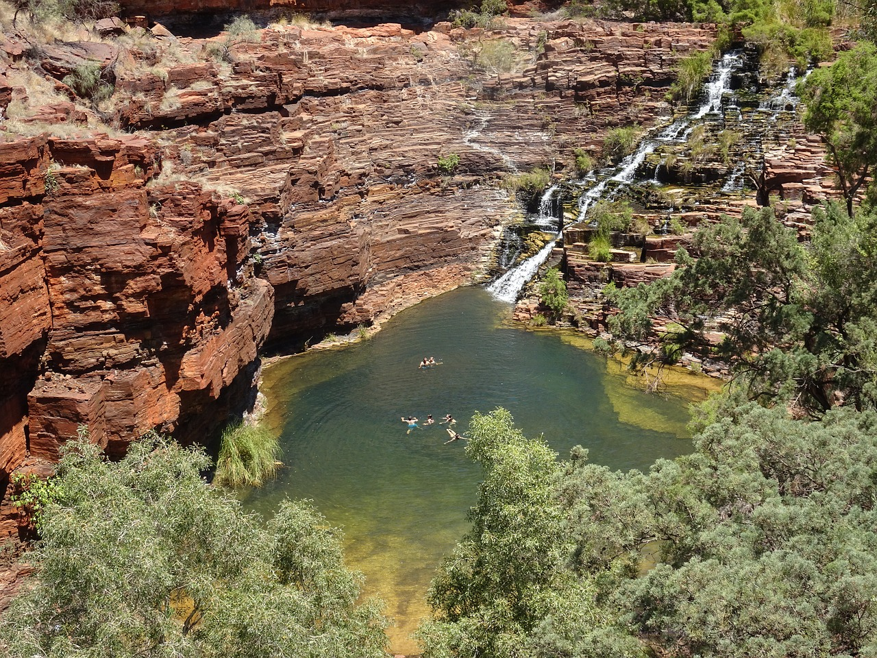 Karijini National Park is Western Australia's second biggest, with dramatic creeks, towering gorges and abundant wildlife.