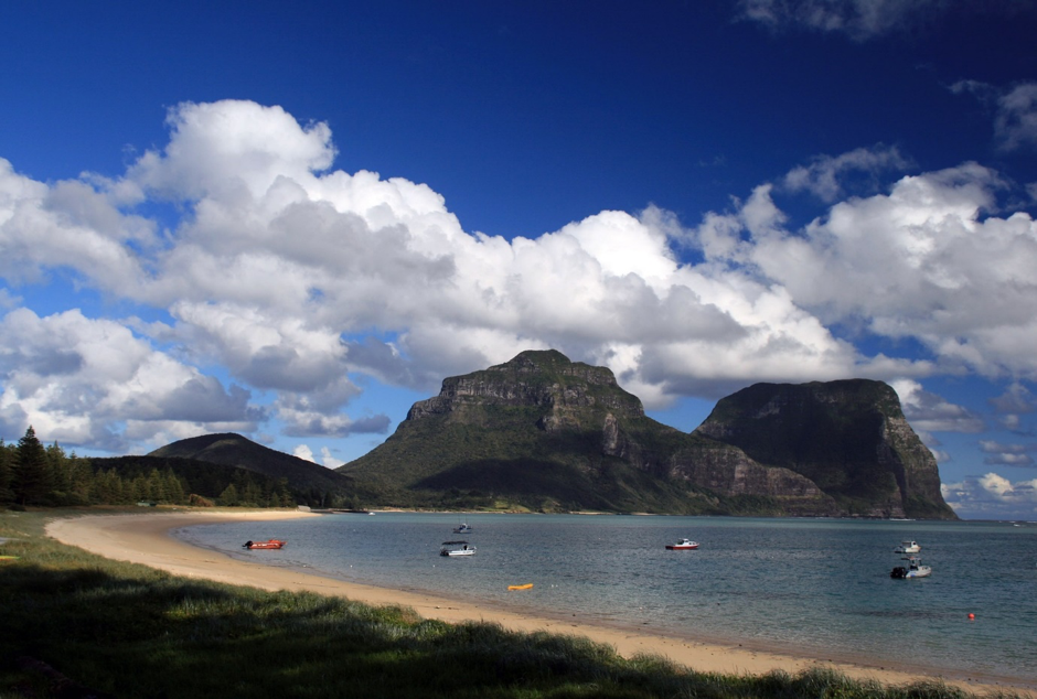 Lord Howe is a tiny island and a nature lover's heaven.
