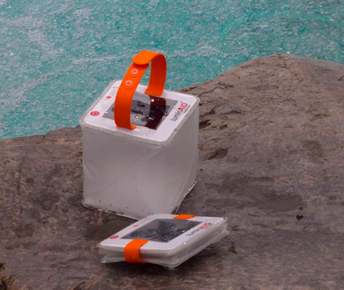 Two-in-one phone charger and solar lantern