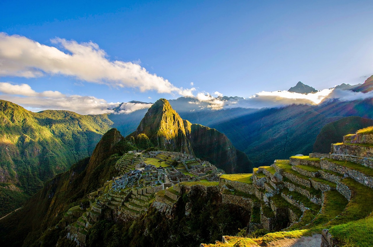 Machu Picchu was built by the Inca Empire.