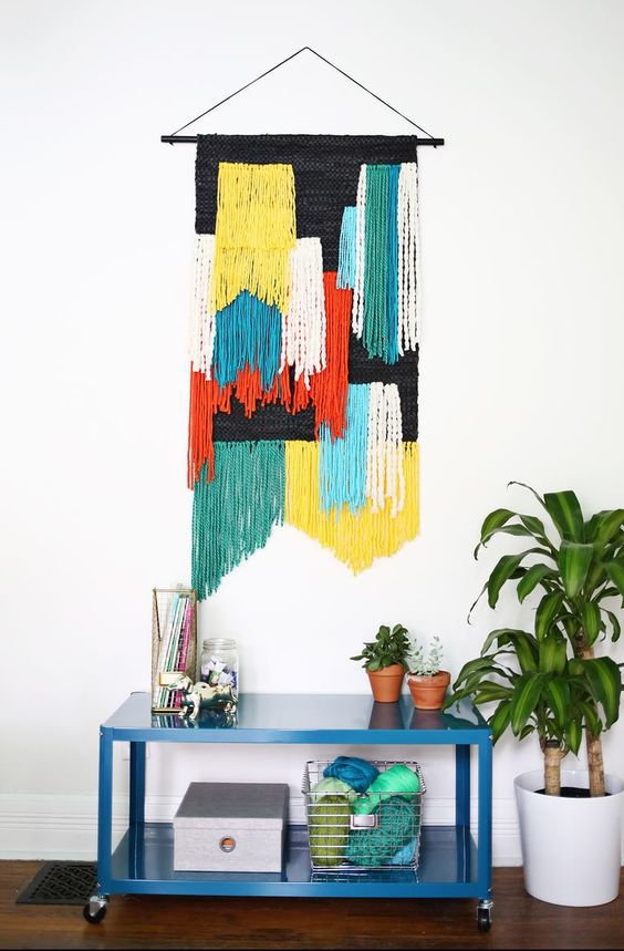 If you want a bit of 70's flavour in your décor, get your craft on!