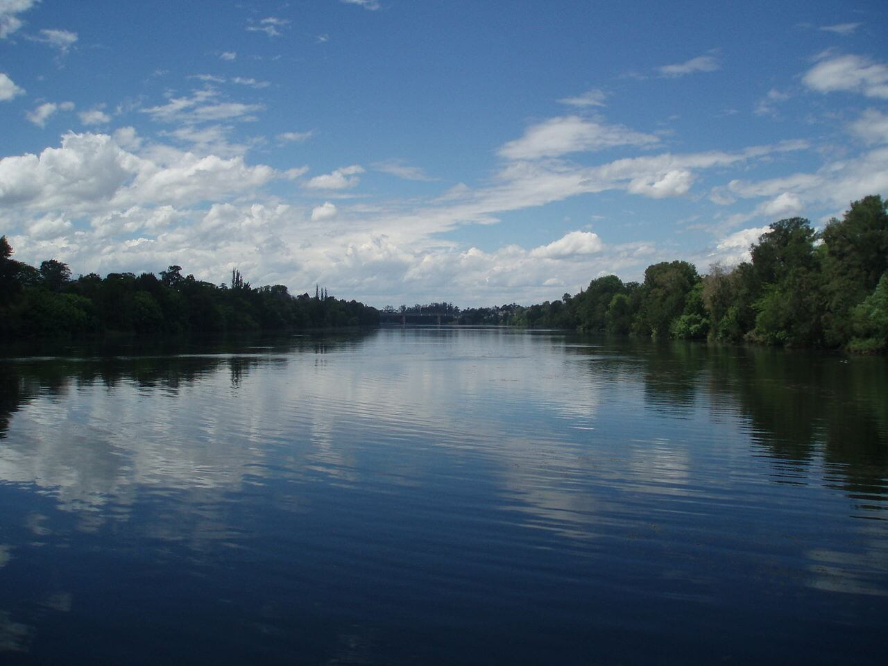 Nepean River at Penrith, NSW