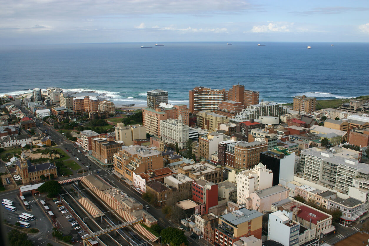 Newcastle - a city with an ocean backdrop