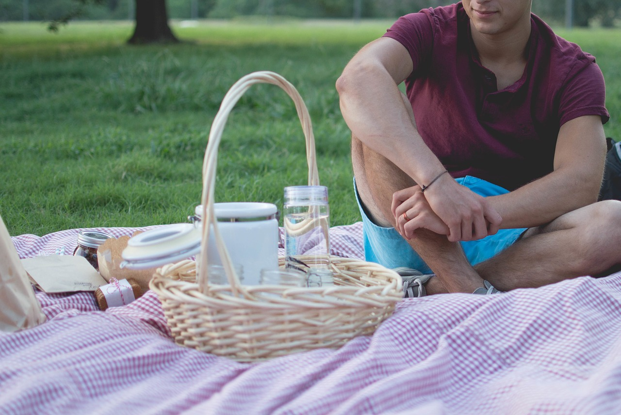 Having a picnic in the park is a fun way to spend a day.