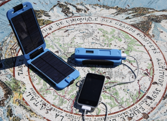 The Power Monkey Extreme is the battery pack for the traveller.