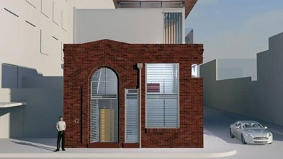 Sydney power Substation ready for renovation into a home