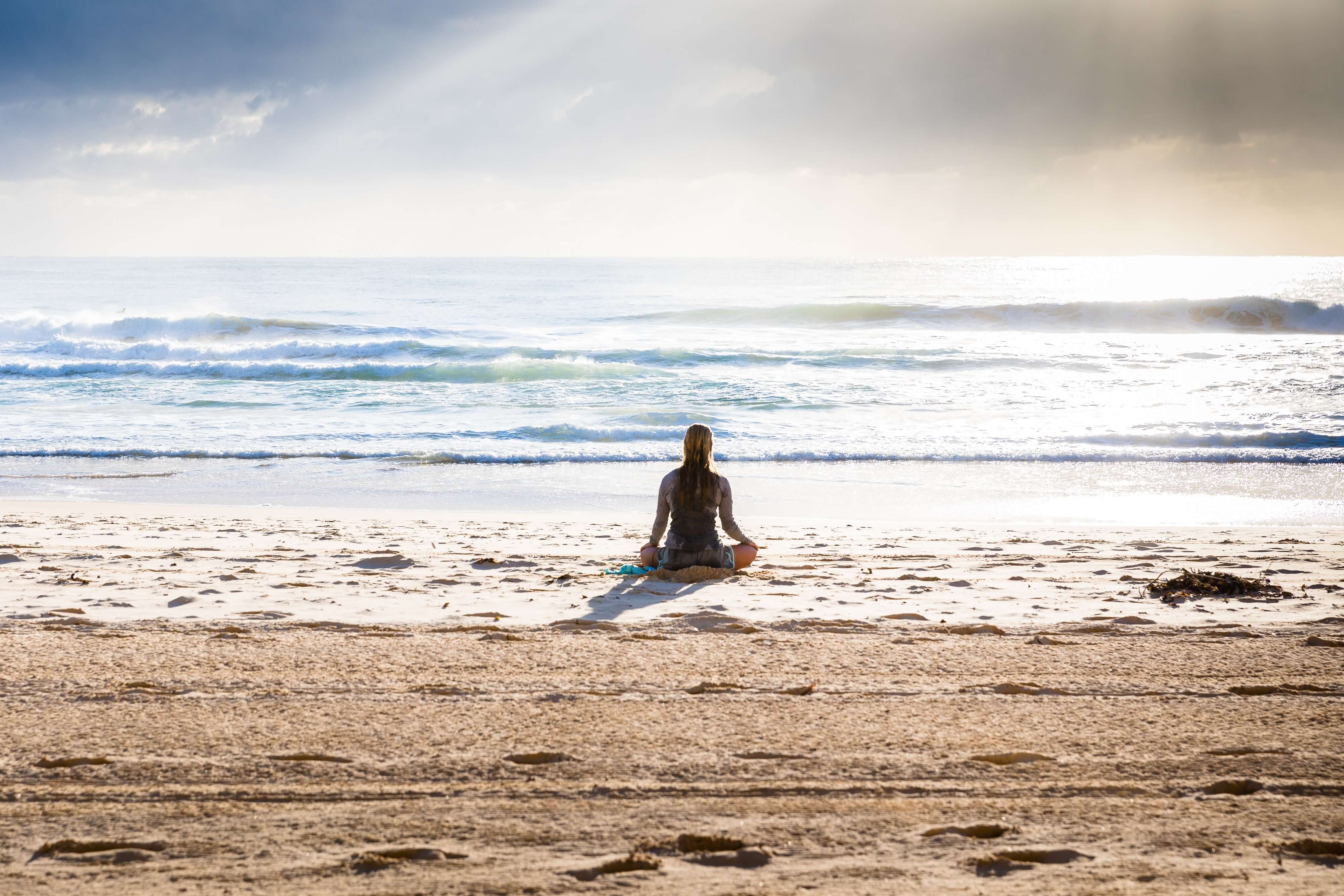 Practice mindfulness via meditation or yoga.