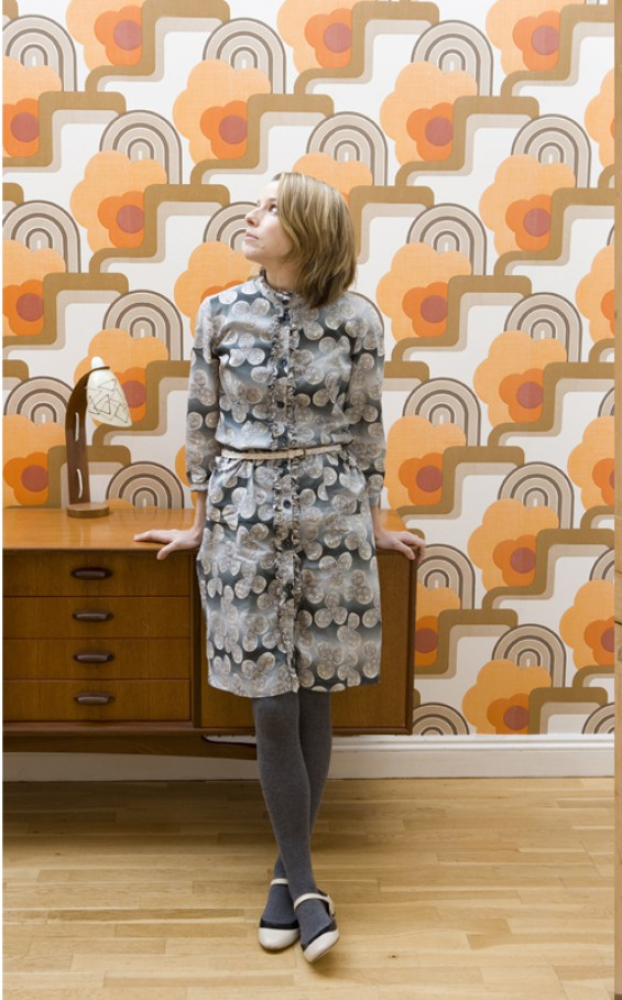 Wallpaper from the 1970's had that quintessential vibey pattern.