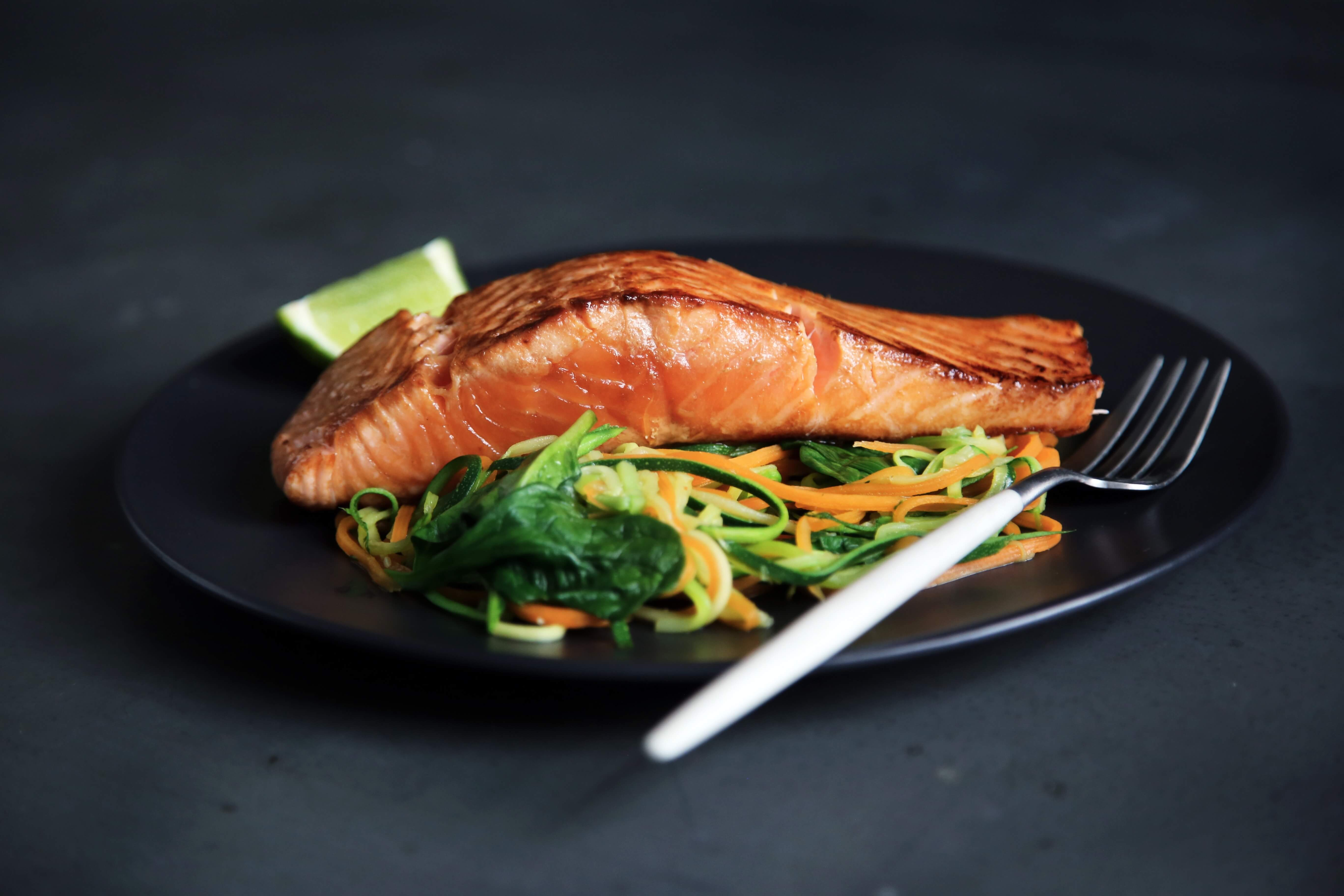 Salmon is great for brain health.