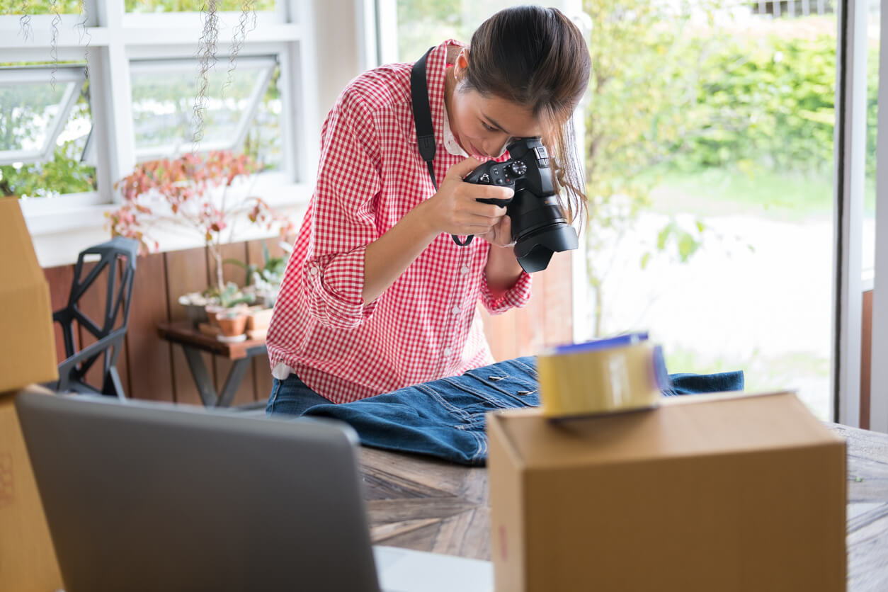 Use the marketplace to sell unwanted items online.