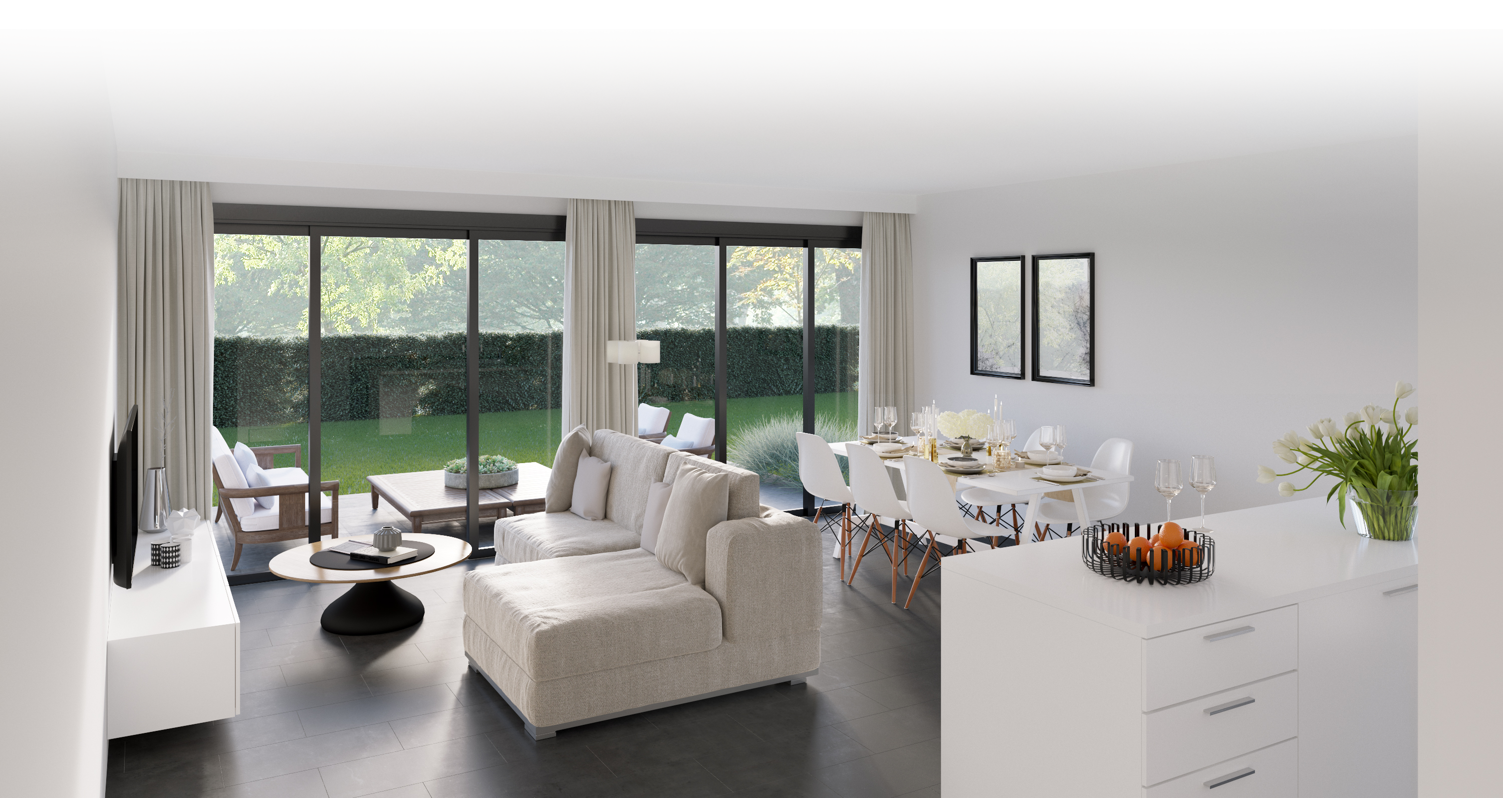 View of the living room of the DPN Dual Dual Income property
