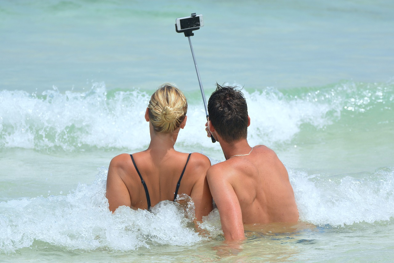 Selfie sticks truly make capturing memories much easier.