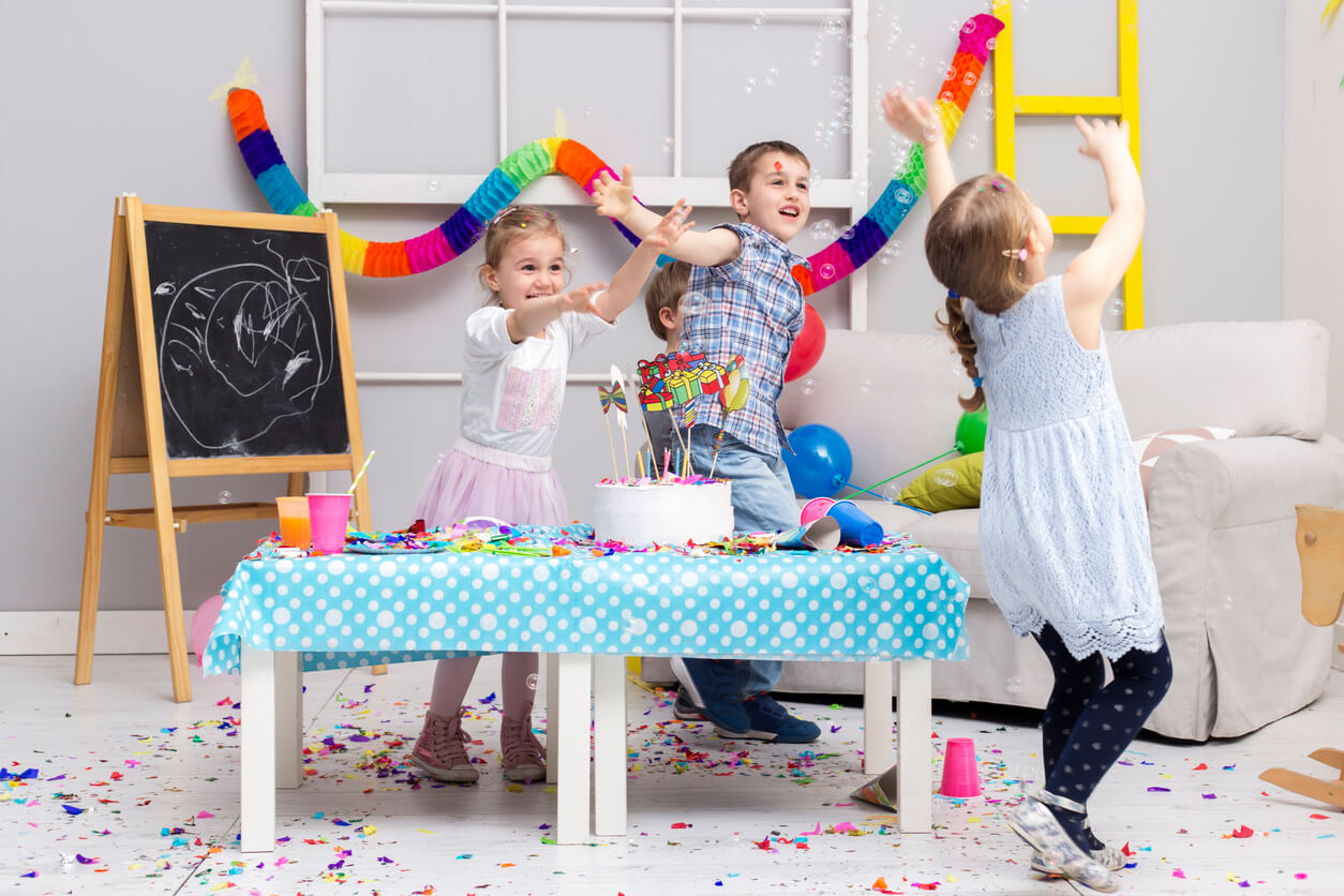 Fantastic child's birthday party on a budget