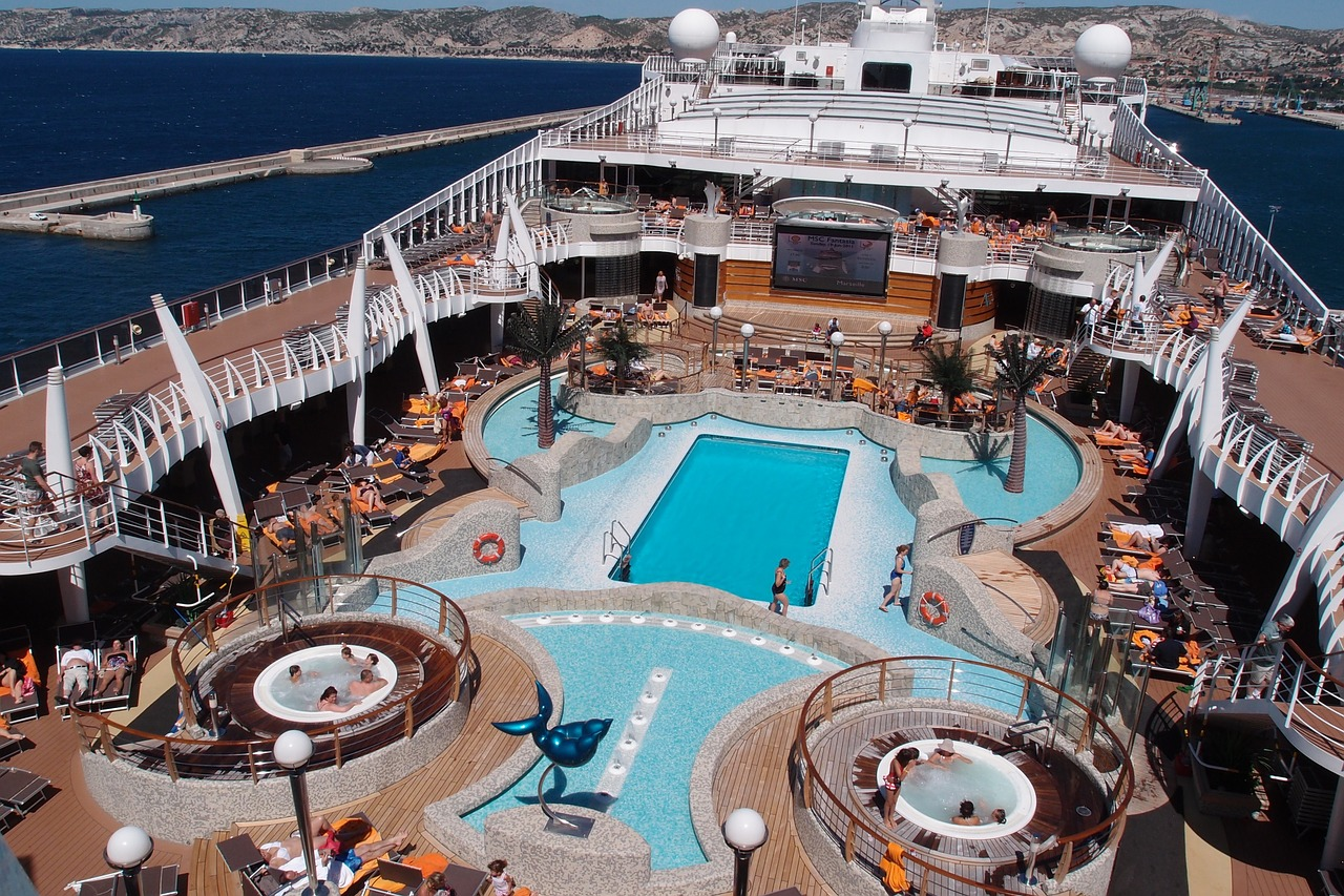 With swimming pools, gyms, kids' activities and much more, each member of the family is catered for on a cruise holiday.