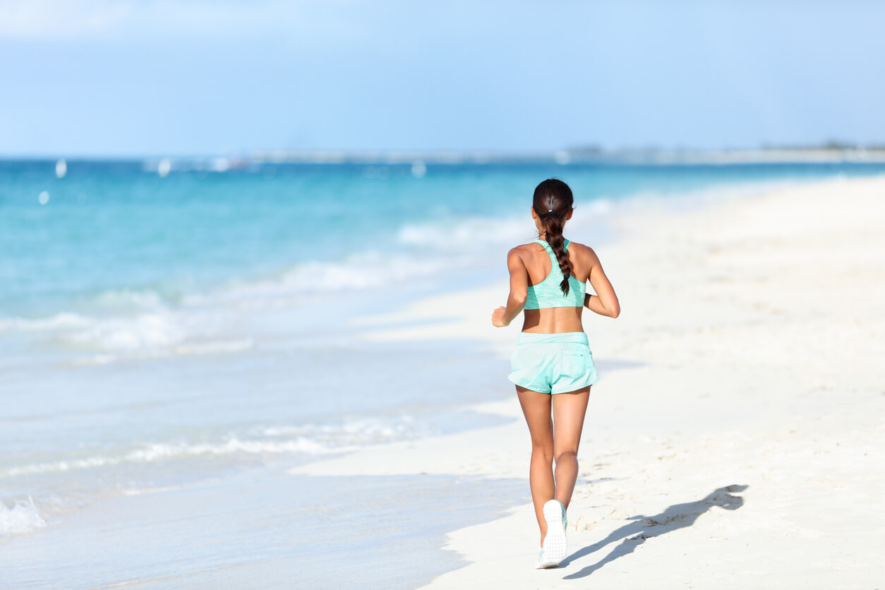 Focus on your posture, breathing and footsteps