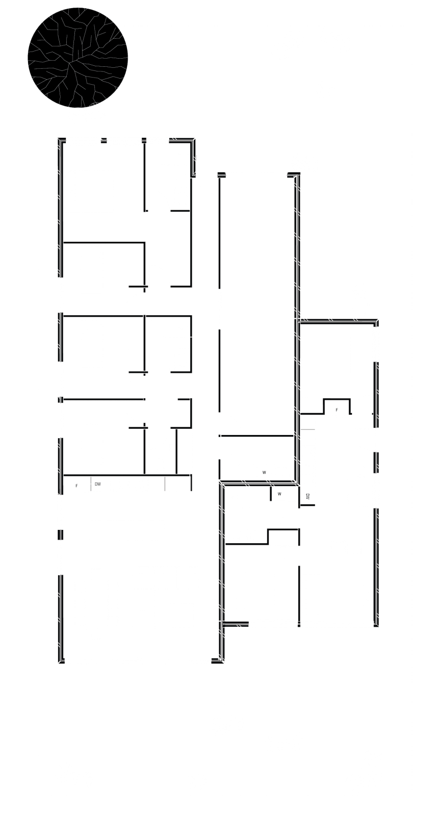Floor plan of a DPN Dual Income Property which shows two dwelling in one property