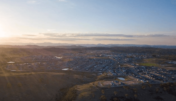 Investment hotspots include the suburb of Googong