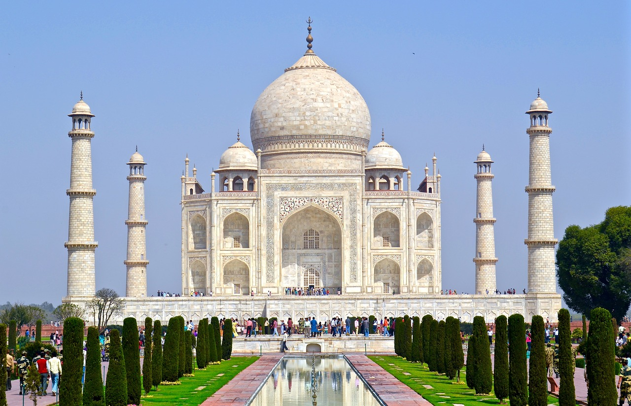 The Taj Mahal was built in 1632 by Mughal Emperor Shah Jahan.