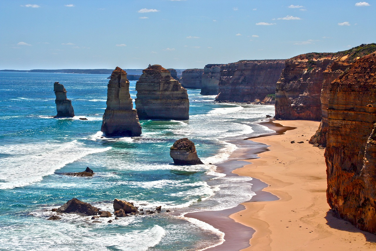 The 12 Apostles on the Great Ocean Road is famous across the globe.