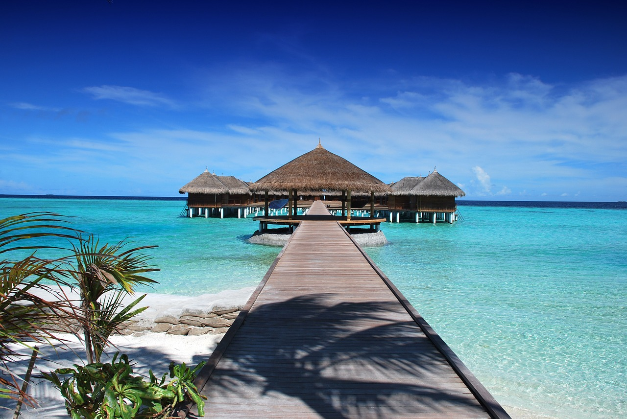 The Maldives really does define tropical paradise.