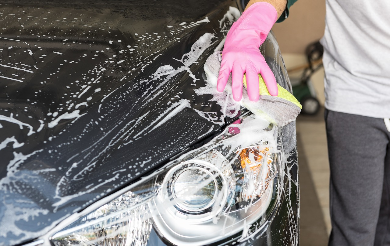 A car wash cafe may seem convenient, but washing your own car can save you money.