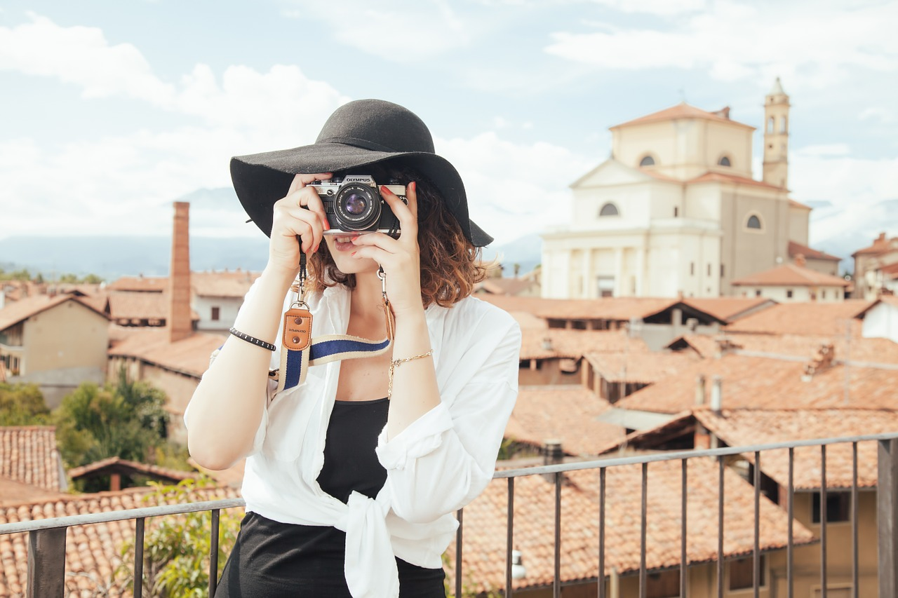 When travelling overseas, ask permission before taking photos of locals.