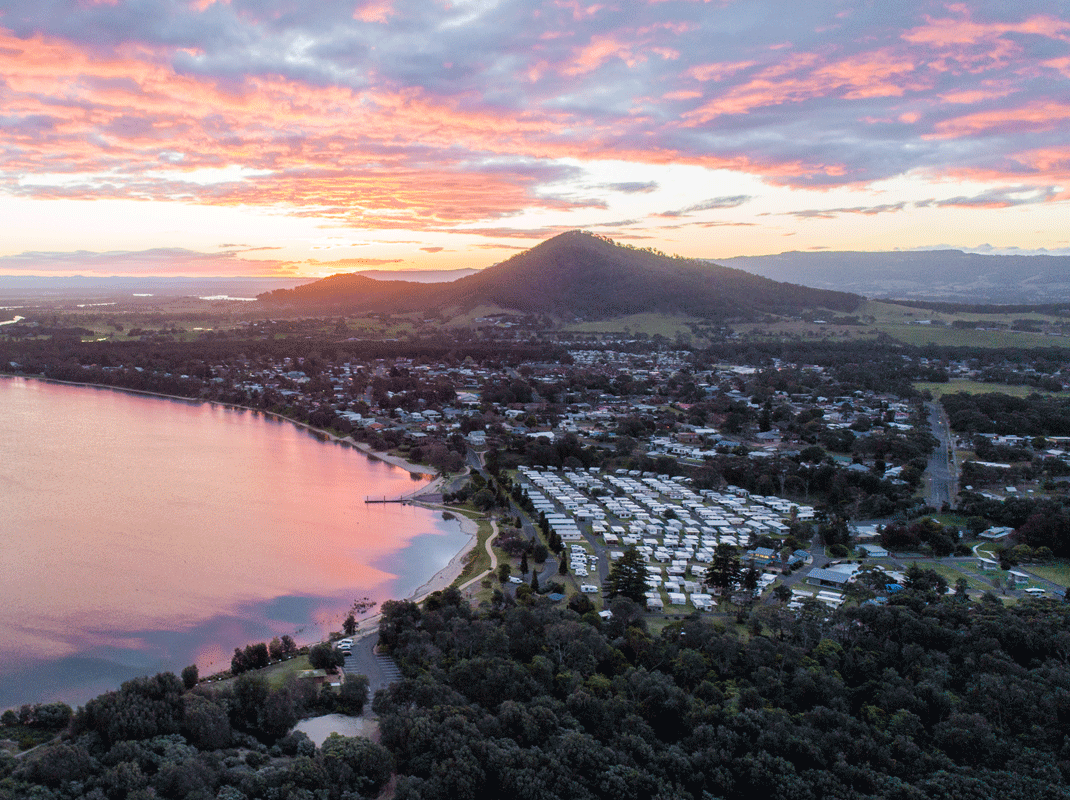 The Shoalhaven fast-growing regional area